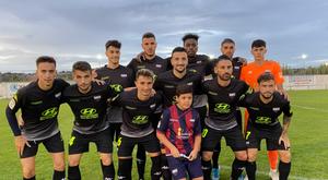 El Extremadura derrotó al Santa Amalia. Twitter/EXT_UD