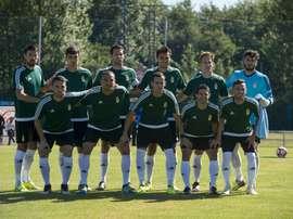 El Oviedo acabó con buenas sensaciones en el primer ensayo de la pretemporada. RealOviedo