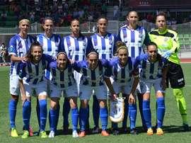 El Sporting Huelva ha caído a manos del Wolfsburgo. Twitter