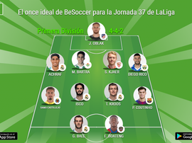 Bale and Boateng spearhead the attack. BeSoccer
