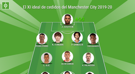El XI ideal de cedidos por el Manchester City 2019-20. BeSoccer