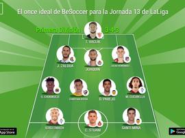Los más destacados de la Jornada 13 de Primera División. BeSoccer
