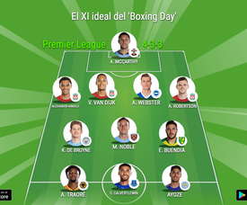 Este es el XI ideal del Boxing Day 19-20.