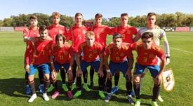 España Sub 19 cumple y derrota a Lituania. SeFutbol