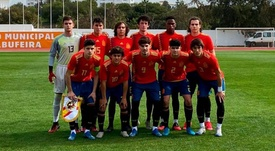 Alemania Sub 17 deja a España Sub 17 con la miel en la boca. Sefutbol