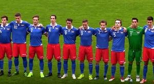 Liechtenstein roza pero no agarra la gesta. Captura/Youtube