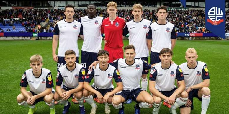 Bolton fielded their youngest eleven in their history. BoltonWanderers