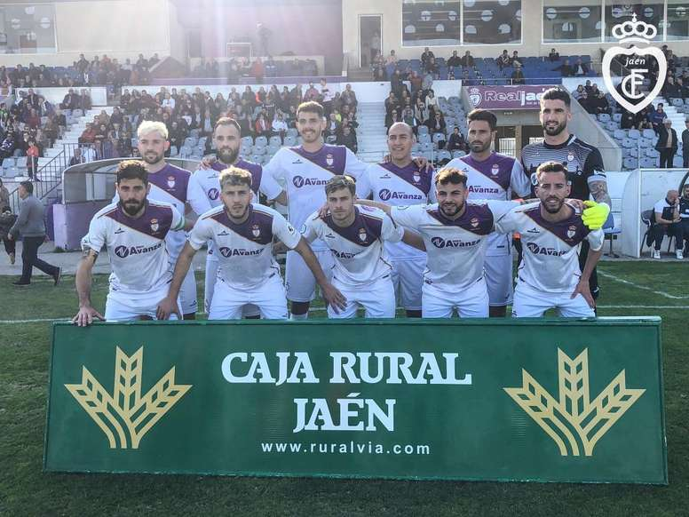 El Jaén pinchó en casa esta jornada. Twitter/RealJaenCF