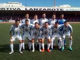 Las Palmas C y Unión Viera se dan cita. Twitter/CFUnionViera