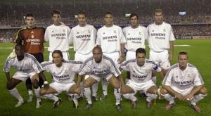 Real Madrid montou equipe histórica de galáticos. EFE