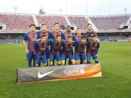 El Barcelona B se lleva la victoria en la visita del Mallorca B. FCBmasia