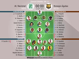 Sigue el directo del Atlético Nacional-Rionegro Águilas. BeSoccer