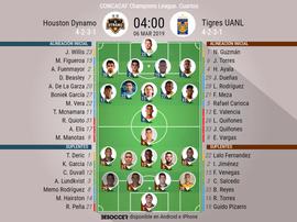 Sigue el directo del Houston Dynamo-Tigres. BeSoccer