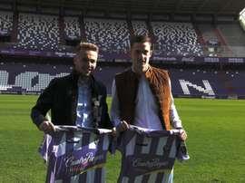 Ontiveros y Toni Martínez, presentados en el Valladolid. RealValladolid