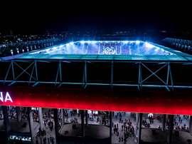 Mainz' Opel Arena. Twitter/Mainz05