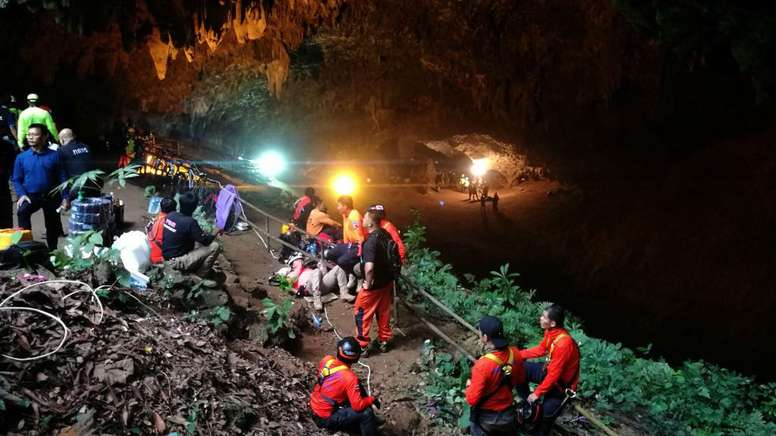 La RFEF enviará uniformes a los niños rescatados en Tailandia - BeSoccer a0f1444e2167a