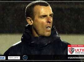 Oran Kearney is the new St Mirren manager. twitter.com/saintmirrenfc