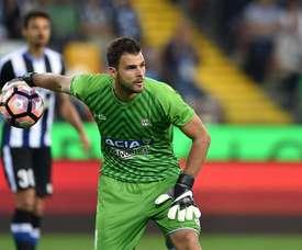 Karnezis deja el Udinese para recalar en el Nápoles. Udinese