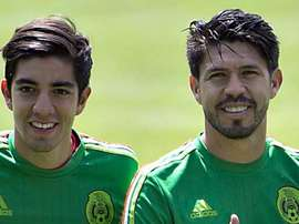 Oribe Peralta y Rodolfo Pizarro cayeron lesionados en el encuentro ante Fiyi. Mexsport