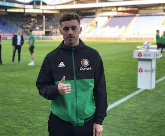 Séville surveille de près une jeune promesse turque. Twitter/Feyenoord