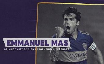 Orlando City oficializa el fichaje de Emmanuel Mas. Twitter/OrlandoCitySC