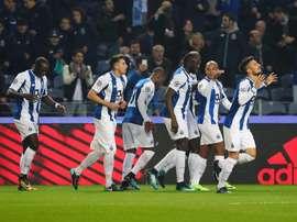 El Oporto consigue el pase a cuartos de final de la Taça de Portugal. Twitter/FCP
