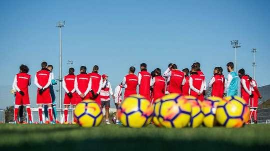 Ryller deverá em breve treinar com o grupo do Sporting de Braga. Twitter/SCBraga