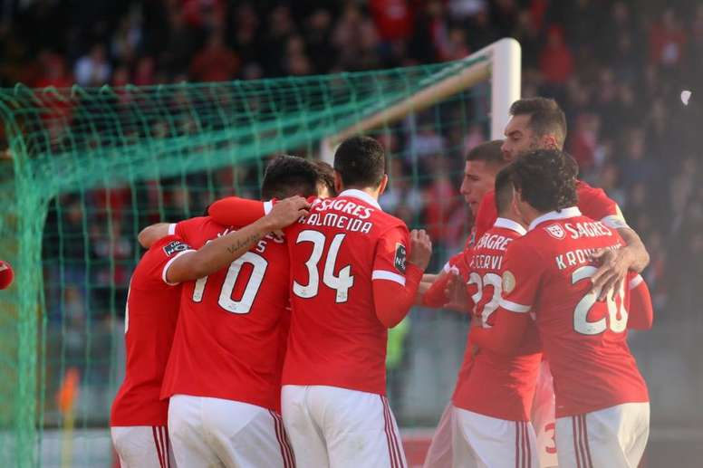 Zenit - Benfica: onzes iniciais confirmados. Twitter/SLBenfica