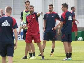 Barja tendrá ficha con el equipo filial de Osasuna. CAOsasuna