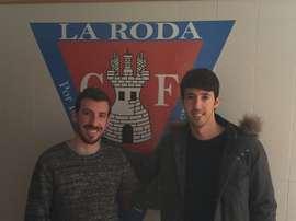 Óscar Amat, nuevo jugador de La Roda. Twitter