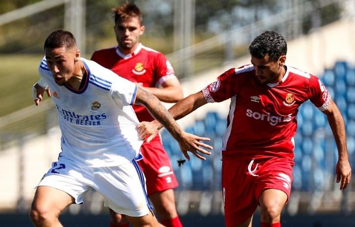 El Real Madrid Castilla venció al Nàstic de Tarragona. Twitter/LaFabricaCRM
