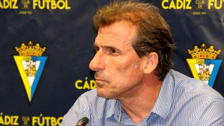 Óscar Arias dejó el Cádiz. CádizCF