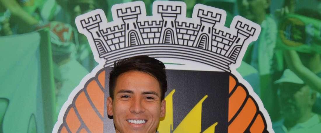 Foi de Óscar Barreto o tento que fechou a partida na 'Capital do Móvel'. RioAveFC