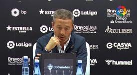 Óscar Cano estalló contra el videoarbitraje. LaLiga