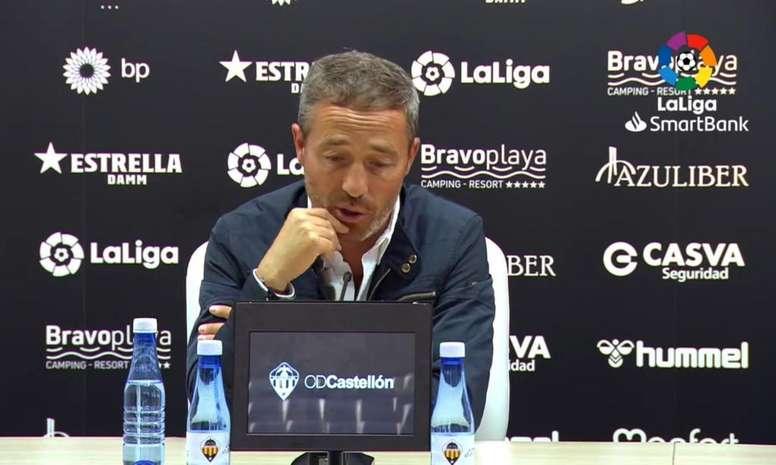 Cano recalcó la importancia del partido frente al Castellón. LaLiga