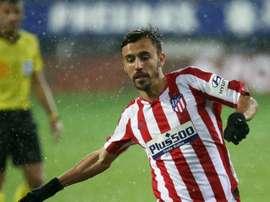 Óscar Clemente a joué quelques minutes contre Eibar. AtleticodeMadrid