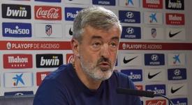 Óscar Fernández, nuevo entrenador del Almería. AtletiAcademia