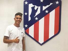 Pinchi es el primer refuerzo del Atlético B. ClubAtléticodeMadrid