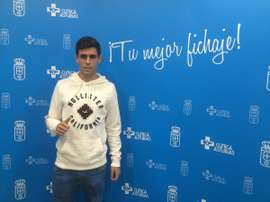 Óscar Gil repasa su temporada en el Real Oviedo. RealOviedo