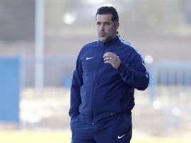 Óscar Mena, nuevo entrenador de Luján. ClubLuján