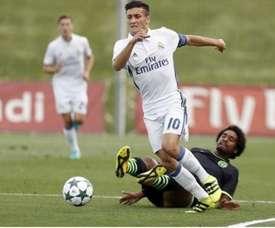 El Real Madrid tiene muchas esperanzas puestas en Óscar Rodríguez. UEFA