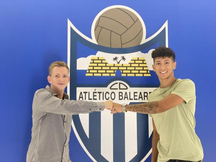 Óscar Sánchez será jugador del Atlético Baleares. Captura/atleticbalears