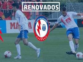 El Rayo Majadahonda ha renovado a Valentín y Andújar. RMajadahonda/Twitter