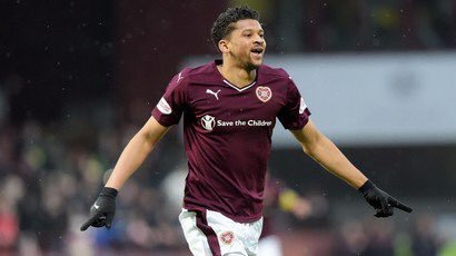 Osman Sow is no longer playing for Hearts but instead Chinese side, Henan Jianye. Twitter