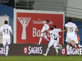 El Vitória de Guimarães venció a domicilio al Sporting de Braga. VitoriaSC