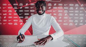 Solet has signed for Salzburg. Twitter/RedBullSalzburg