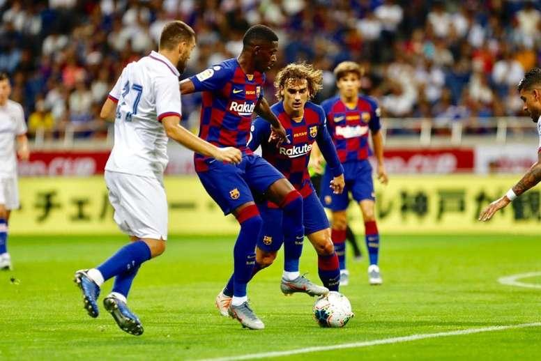 El Barça-Athletic cambia de fecha por orden de Competición. Twitter/FCBarcelona