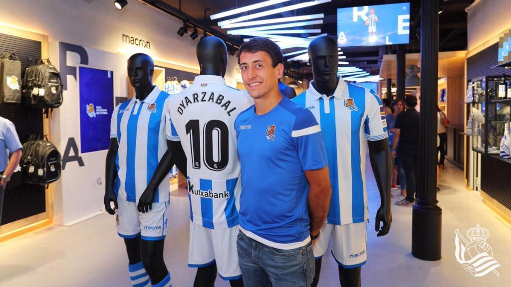 Camiseta Real Sociedad Oyarzabal
