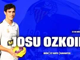 El Sabadell se ha reforzado con Josu Ozkoidi. CESabadell