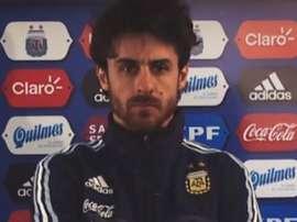 Aimar agora é técnico dos sub-17 da Seleção argentina. AFA